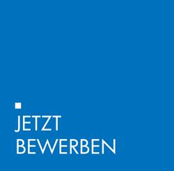 Jetzt Bewerben Icon blau